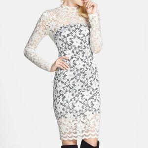 ASTR - Lace Body-Con Dress
